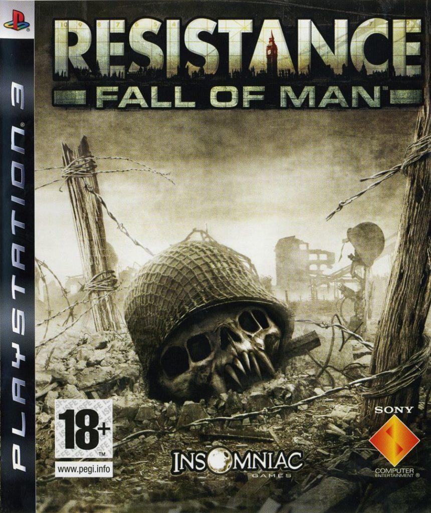 Test retro Resistance Fall of Man