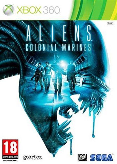 test retro aliens colonial marines xbox 360
