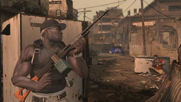 50 Cent Blood on the sand Xbox 360